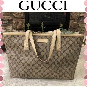 Authentic Gucci Monogram tote